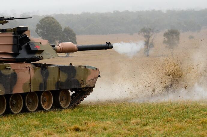 Australian_M1_Abrams_fires