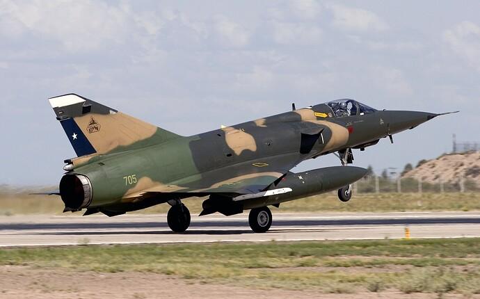 Chile_Air_Force_Dassault_(SABCA)_Mirage_5MA_Elkan_Lofting-8