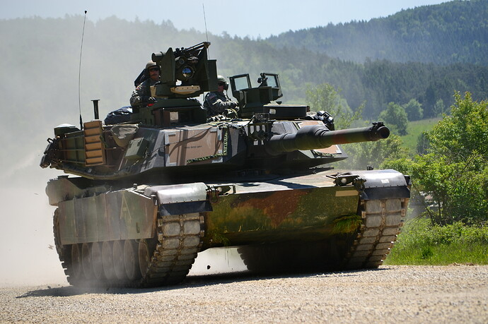 M1A2_tanks_at_Combined_Resolve_II_(14069815848)