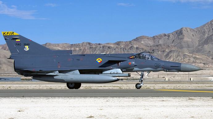 Colombian-Air-Force-Kfir